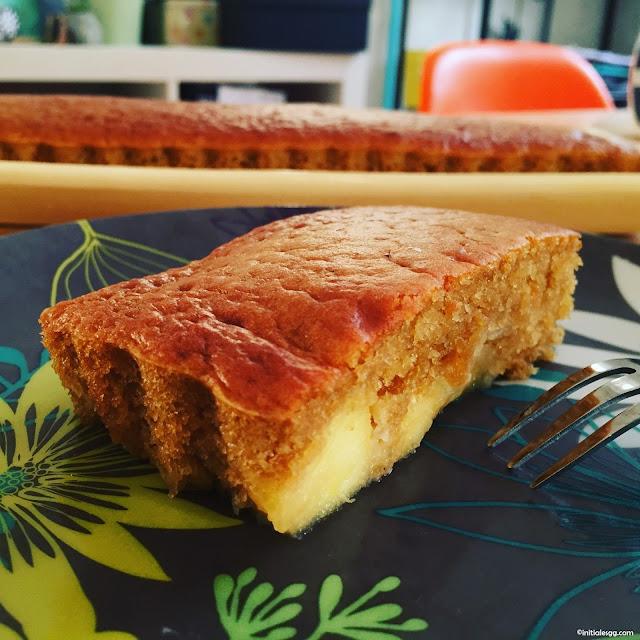 recette gâteau aux pommes allégé
