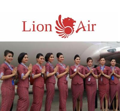 Lowongan Kerja Jobs : PRAMUGARI INITIAL Lulusan Baru Min SMA SMK D3 S1 LION AIR GRUOP Membutuhkan Tenaga Baru Seluruh Indonesia