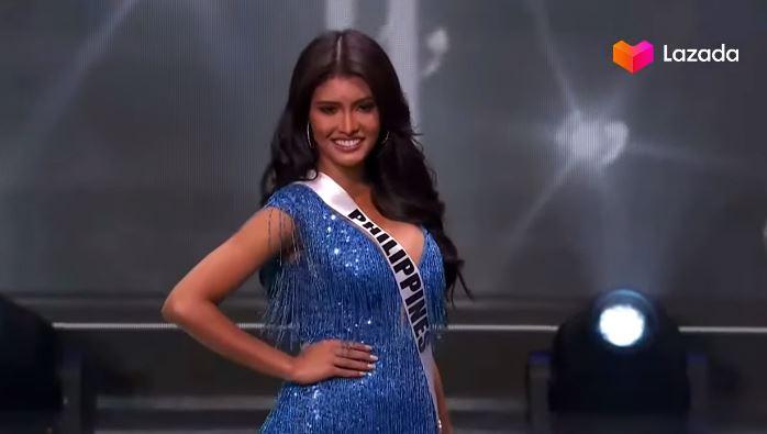 Rabiya Mateo opening Miss Universe