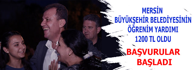 MANŞET, MERSİN, Mersin Haber, Vahap Seçer, Mersin Büyük Şehir Belediyesi,
