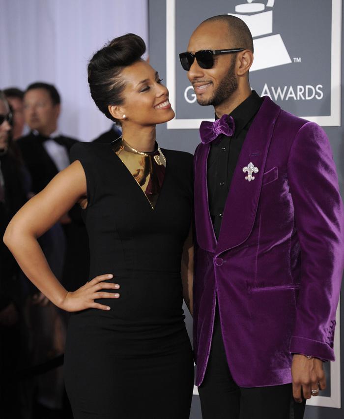 Hollywood Stars: Alicia Keys And Her Husband Swizz Beatz ...