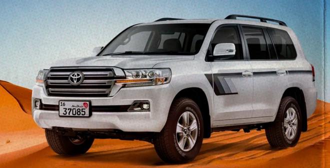Toyota Land Cruiser Heritage Edition hoài cổ, động cơ truyền thống