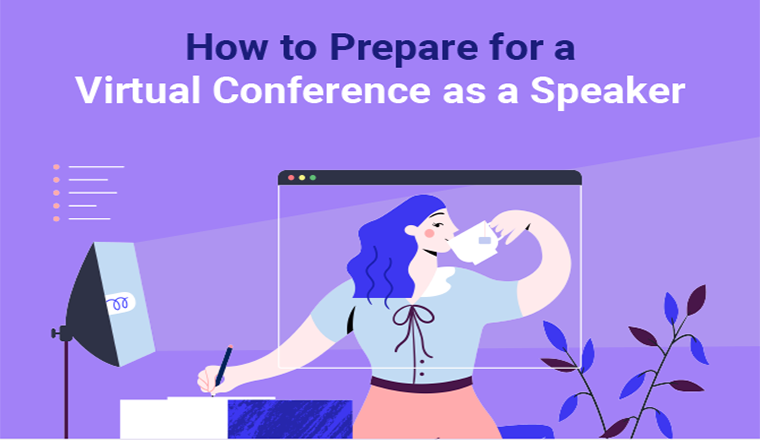 Experts Share Their Best Tips on How to Be a Better Virtual Event Speaker #infographic