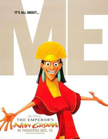 Poster Of The Emperor's New Groove 2000 Dual Audio 720p BRRip [Hindi - English] ESubs Free Download Watch Online downloadhub.net
