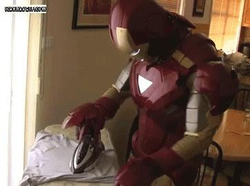 Funny Iron Man Joke Photo