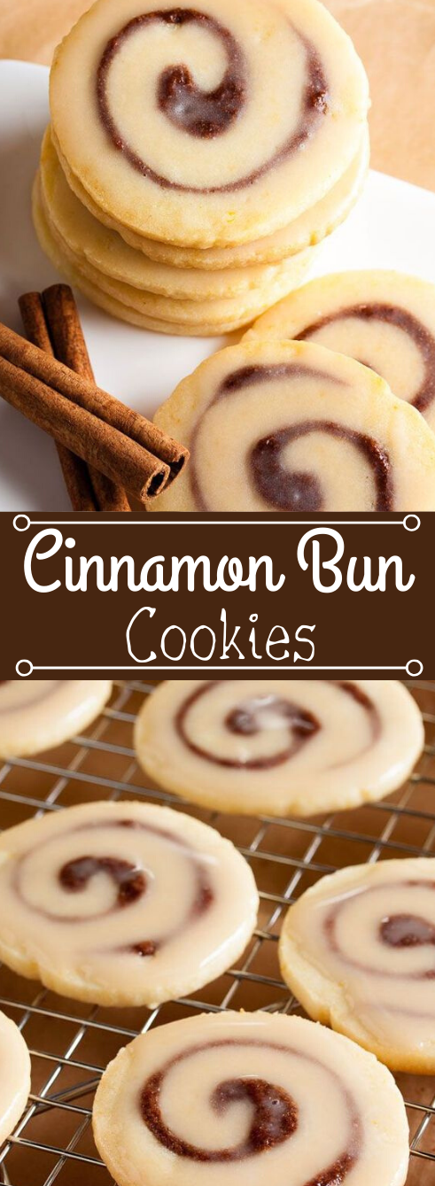 Cinnamon Bun Cookies #cookies #diet #snack #recipes #dessert