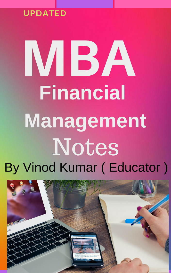 notes mba finance and financial management Financial management is a basic skill that consists of certain concepts and techniques that are useful not only for business life, but also in our personal life home finance.