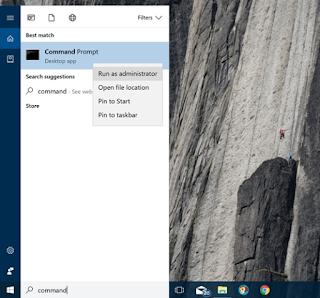 cara menyembunyikan partisi windows melalui CMD
