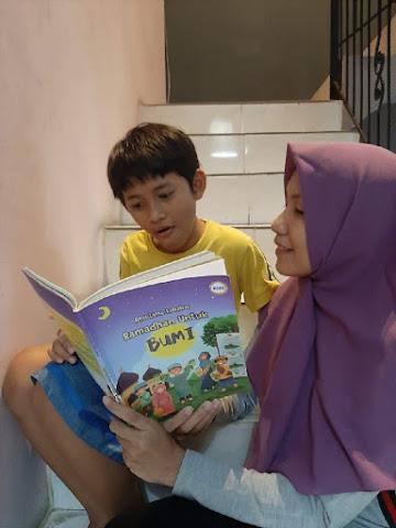 Aksi Lima Sahabat Ramadhan untuk Bumi