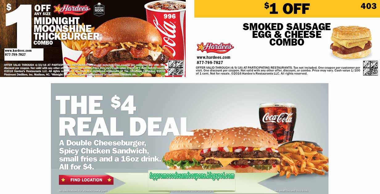 This is an image of Magic Printable Hardees Coupons