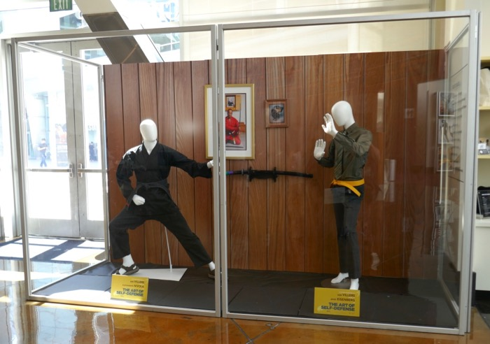 Art of Self-Defense movie costume exhibit