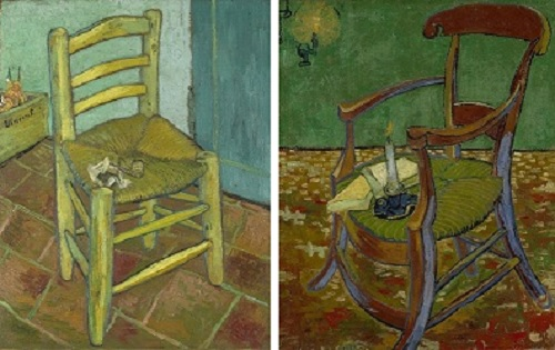 Paris Cafe Chairs Lycra Chair Covers For Sale Australia Arteeblog: As Cadeiras De Van Gogh