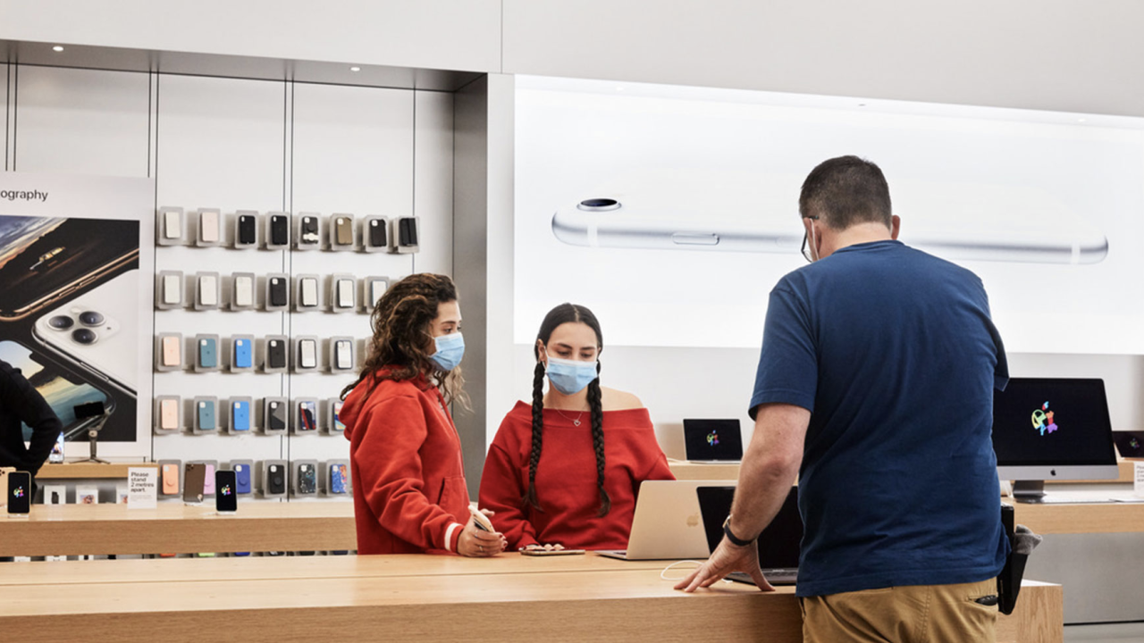 As COVID-19 Cases Declining, Apple Reopens All 270 Apple Stores In The US