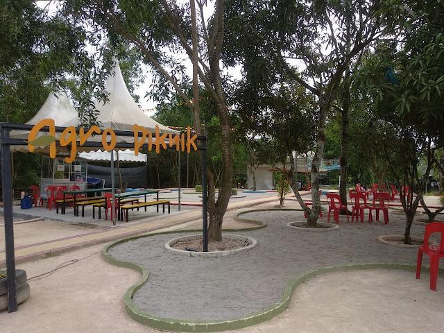 Tempat bersantai Agro Piknik Sei Temiang Batam