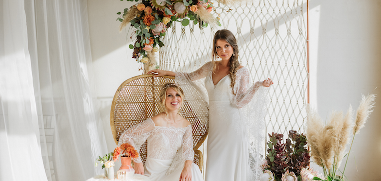 Bohemian Vibes with Allure Bridals x Wilderly Bride
