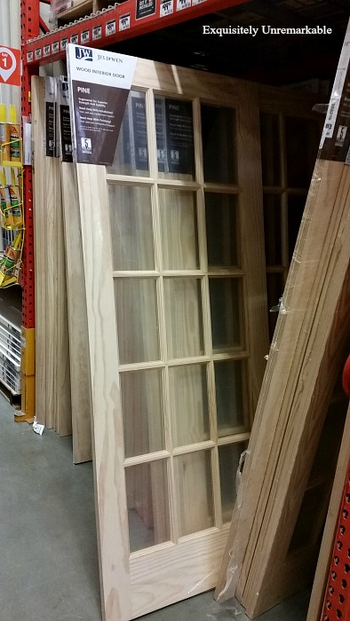 Jeld Wen Interior Pine French Door at Home Depot
