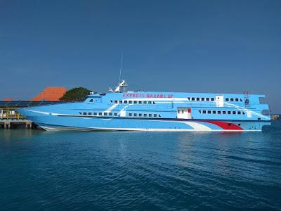 kapal express bahari 3f semarang - karimunjawa