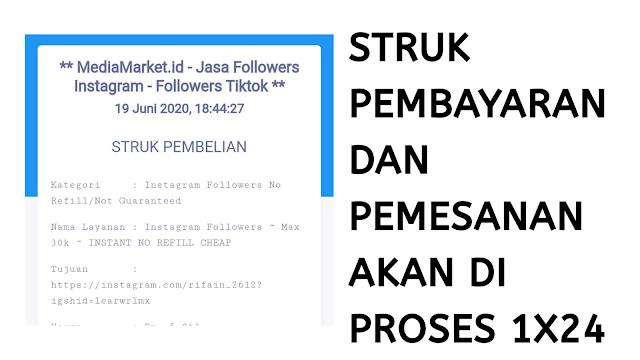Cara Menggunakan Situs Follower Instagram di Mediamarket.id