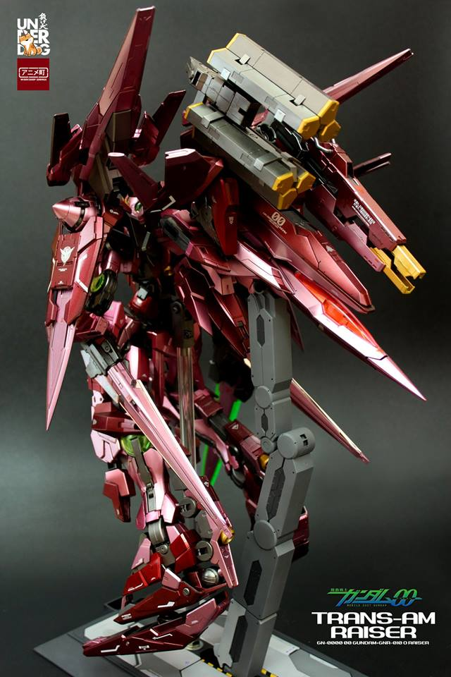 Custom Build: PG 1/60 00 Raiser Trans-AM - Gundam Kits Collection News and Reviews