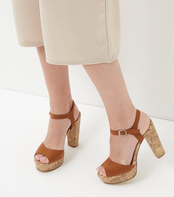 zapatos de plataforma con poco tacon
