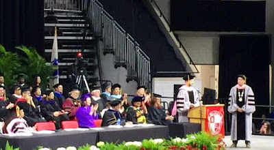 Missy Elliott, Justin Timberlake and Alex Lacamoire receive honorary doctorates from Berklee College of Music.