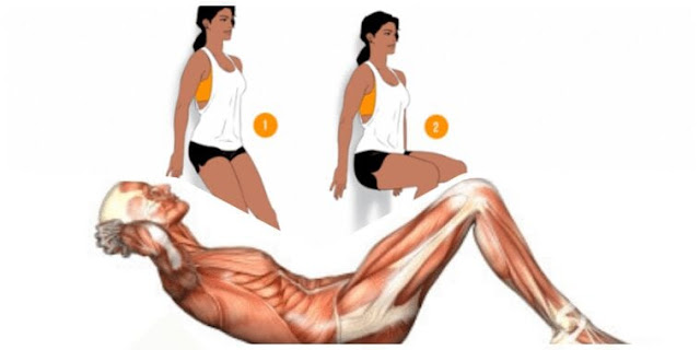 4 simple exercises to burn off winter fat and get ready for summer..!