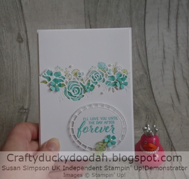 #JOSTTT004, Craftyduckydoodah!, Forever Lovely, Joy of Sets Challenge, Stampin' Up! UK Independent  Demonstrator Susan Simpson, Supplies available 24/7 from my online store, Anniversary Card
