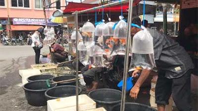 Persimpangan Kampuang Dobi, Sentra Ikan Hias Padang Panjang