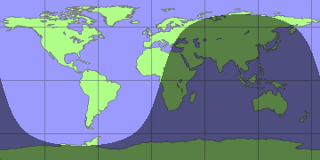 The New Kinetic: How to Draw a Day/Night World Map