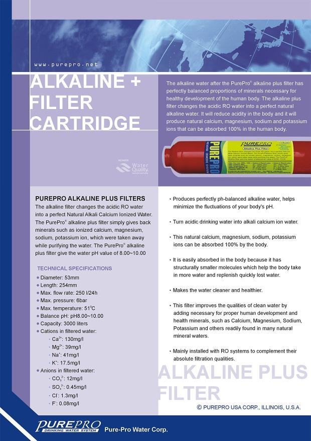PurePro® Alkaline Plus (+) Filter