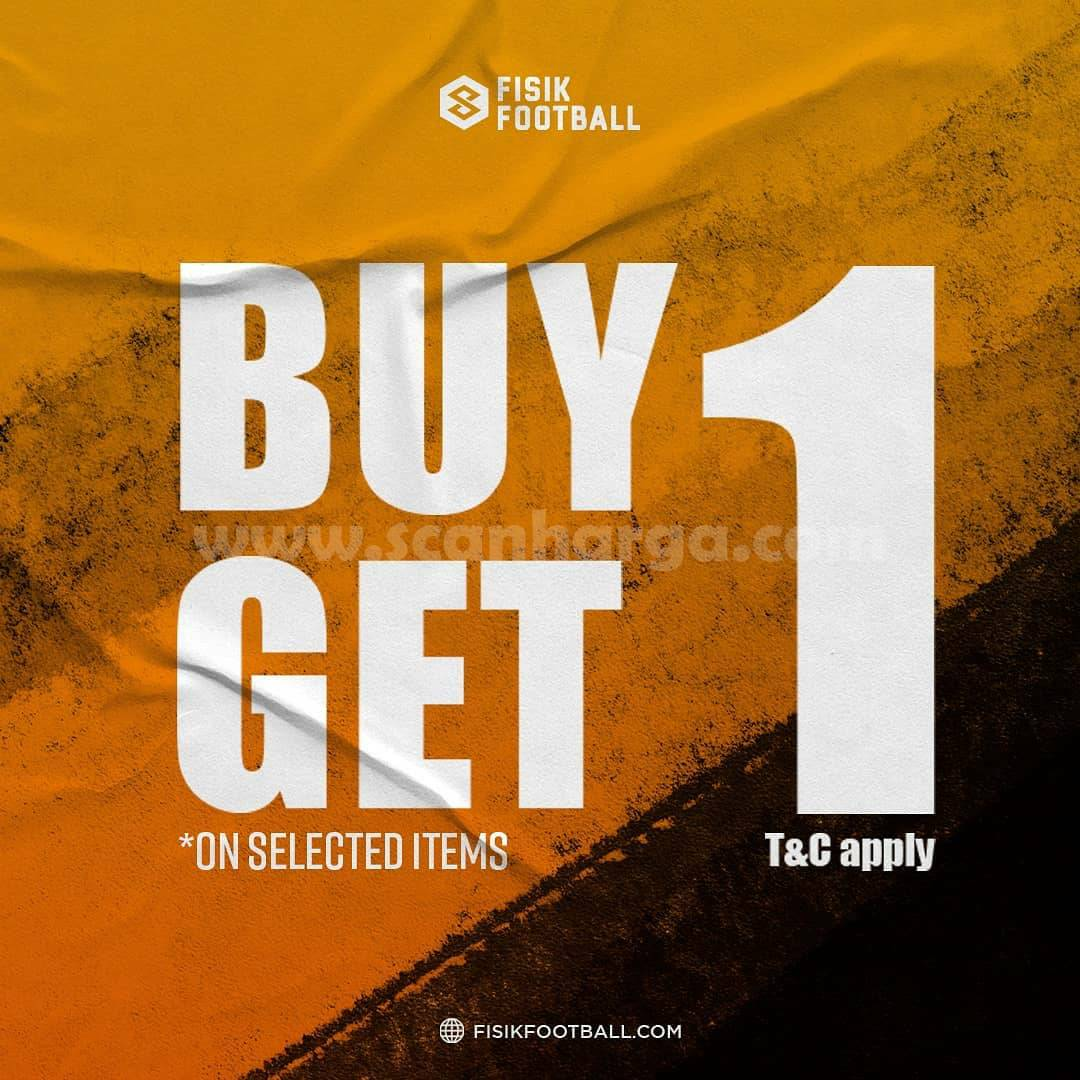Promo FISIK FOOTBALL BUY 1 GET 1 On Selected Items