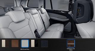 Nội thất Mercedes GLS 500 4MATIC 2016 màu Xám Crystal 228