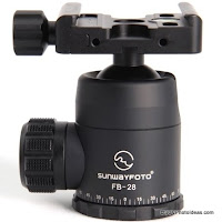 New Sunwayfoto FB-28 Lightweight Ball Head Preview