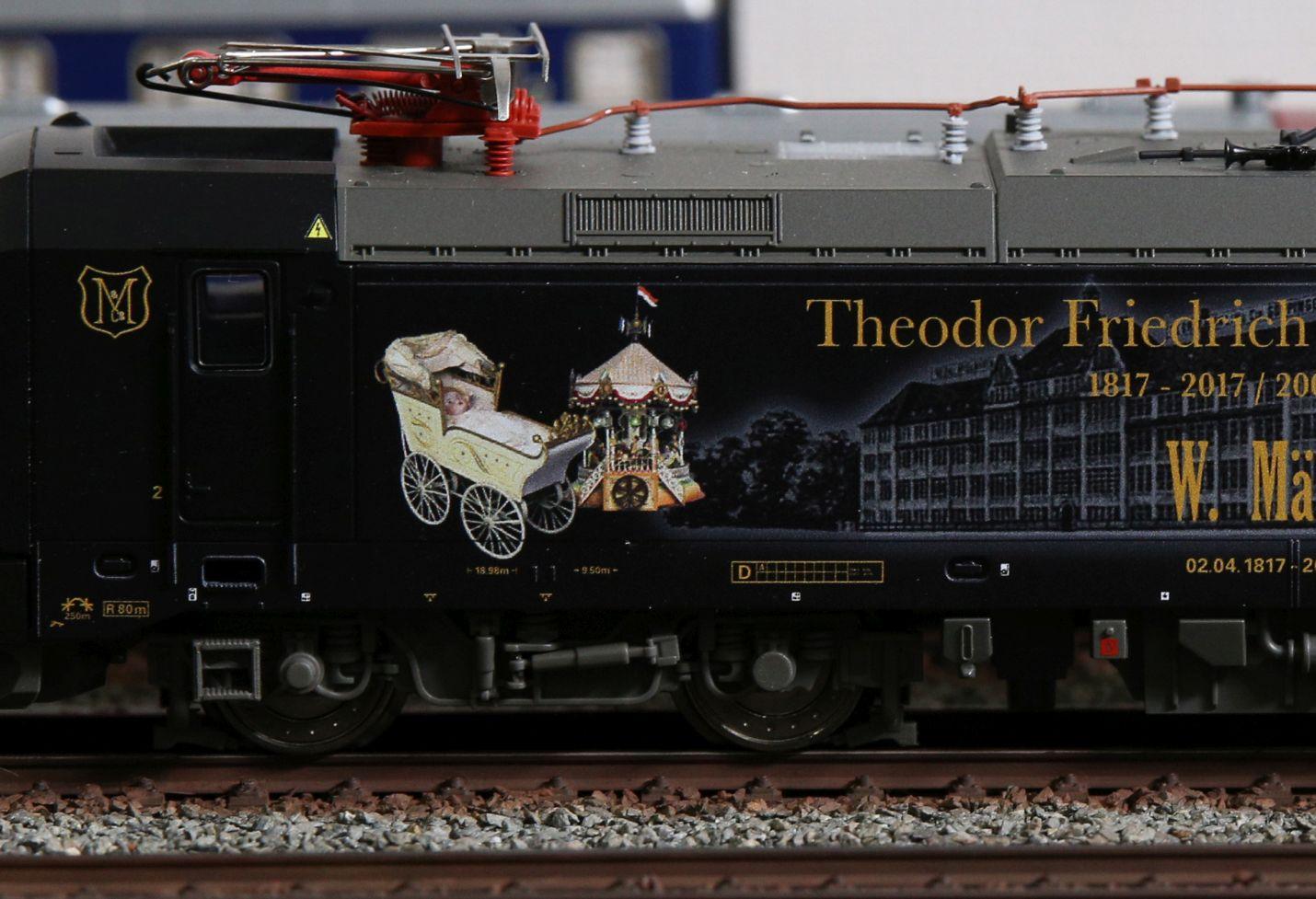 TRIX 22874 mehrsystem-Elektrolokomotive Vectron BR 193 article neuf
