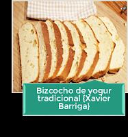 BIZCOCHO TRADICIONAL DE YOGUR {RECETA XAVIER BARRIGA}