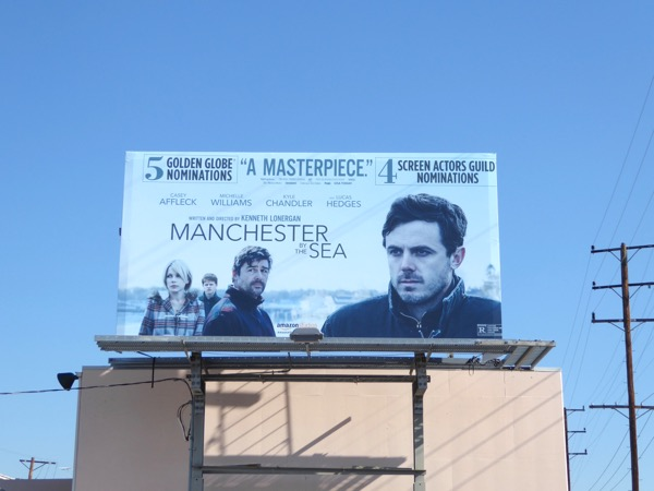 Manchester by Sea awards consideration billboard