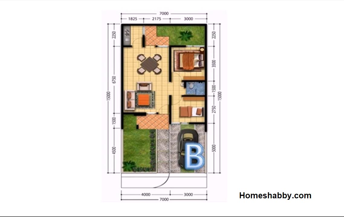 Kumpulan Sketsa Rumah Minimalis Modern Type 36 Terbaru ...