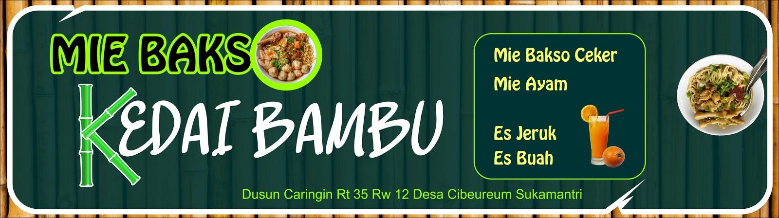Download Template Desain Spanduk Mie Bakso Kedai Bambu cdr ...
