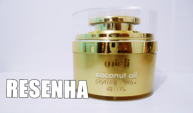 Coconout Oil, Widi Care, Resenha