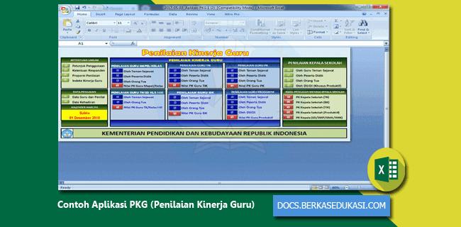 Contoh Aplikasi PKG (Penilaian Kinerja Guru)