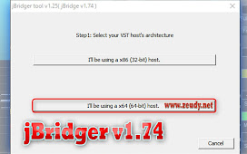 How to Install and Using jBridge v1.74 Vst Plugins