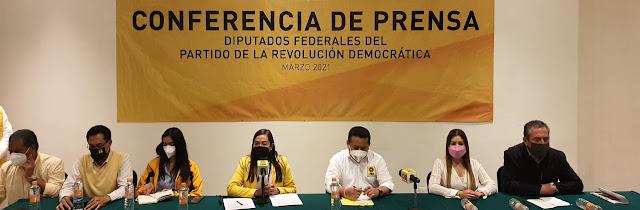 Exige GPPRD a gobiernos morenistas dejar de perseguir a opositores