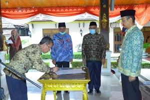 Bupati Lantik Penjabat Sekda Kabupaten Batanghari