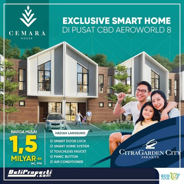cemara house aeroworld 8 citragarden city