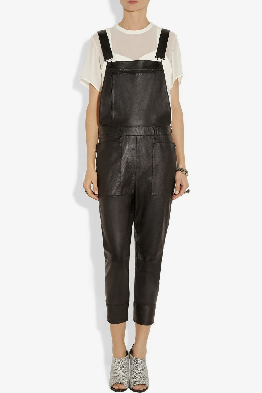 Overalls Are Making A Comeback As The Latest Fashion Trend: Leather Overalls And Coveralls
