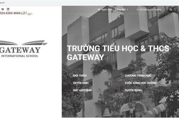 """Cấp mác """"Quốc tế"""" cho trường Gateway, quận Cầu Giấy đã lừa dư luận? 4"""