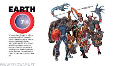 earth 7 daftar bumi dc