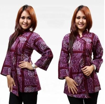 Desain Baju Batik Modern 1
