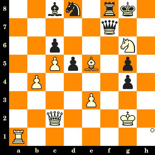 Les Blancs jouent et matent en 3 coups - George Mackenzie vs Siegbert Tarrasch, Hambourg, 1885